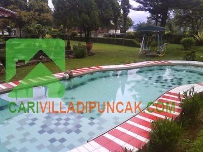 Sewa villa ada kolam renang