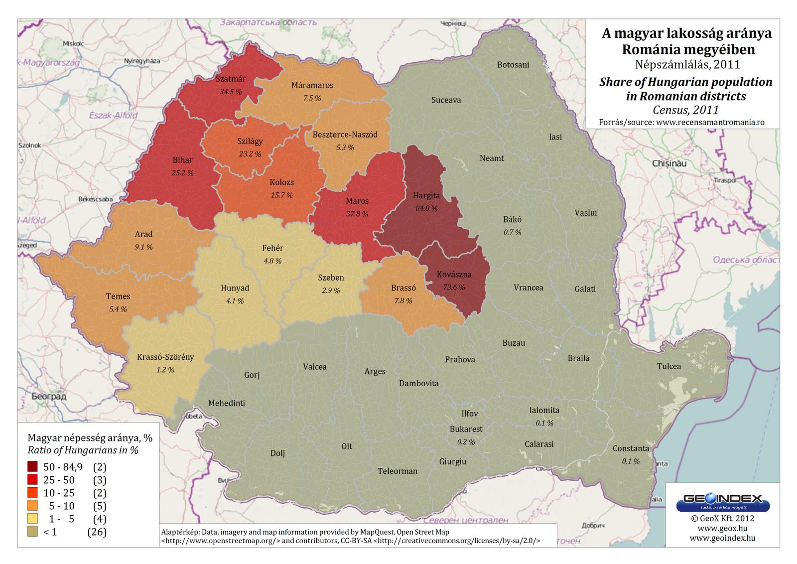 románia erdély térkép A nemzetpolitika oktatása / Térképek / Etnikai térképek románia erdély térkép