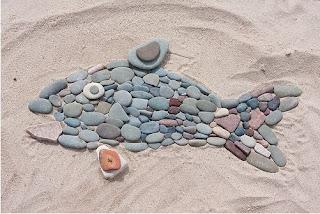Resultat d'imatges de land art playa