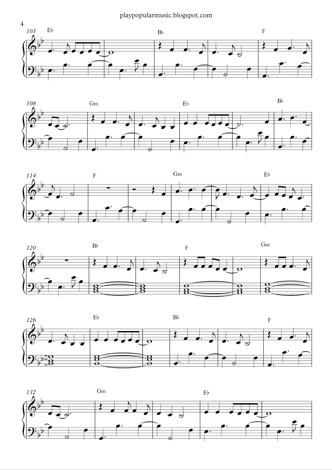 play popular music: Say You Won't Let Go - James Arthur