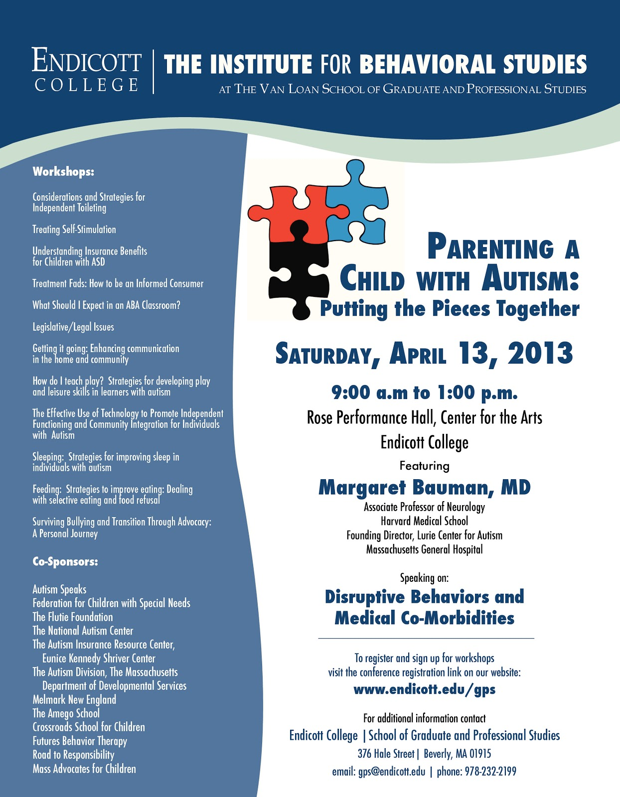 Special Needs Digest Conference April 13 Parenting a Child with