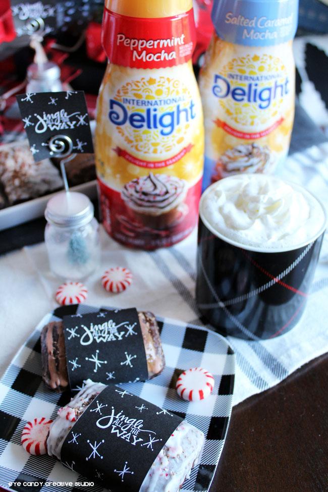 international delight, peppermint mocha, salted caramel mocha, coffee