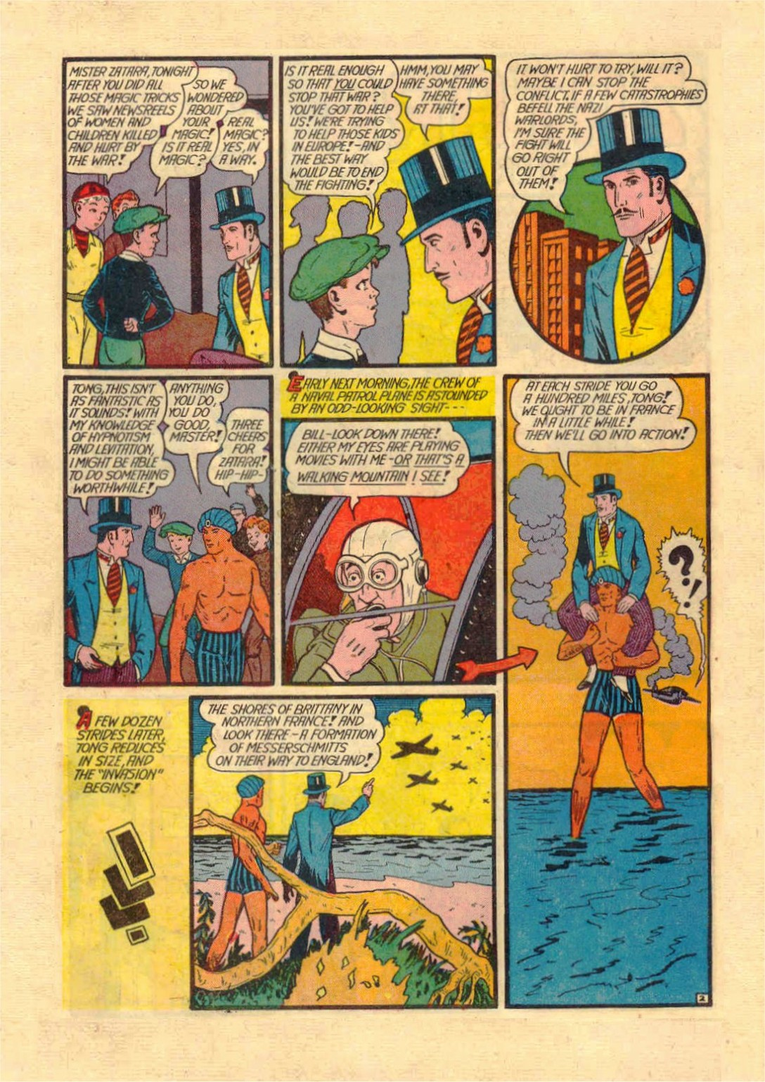 Read online Action Comics (1938) comic -  Issue #46 - 57