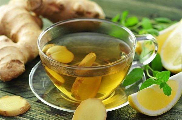 giảm béo từ trà gừng