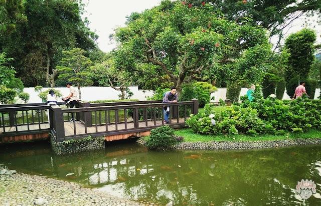 Taman Jepang di Taman Bunga Nusantara
