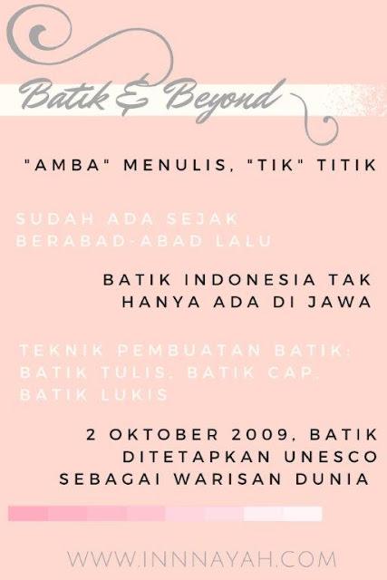 Batik Indonesia, inovasi batik, tradisi batik, bienale jogja