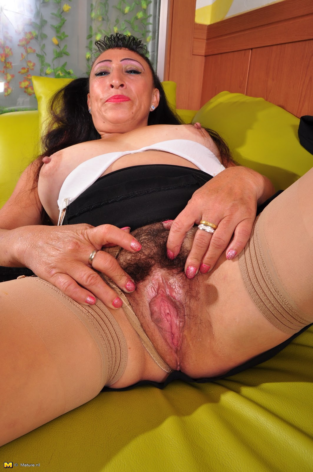 Mature Solo Hairy