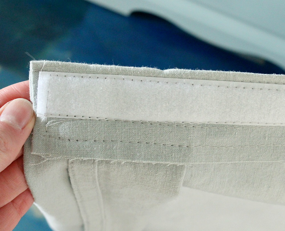 Sewing Velcro on Fabric
