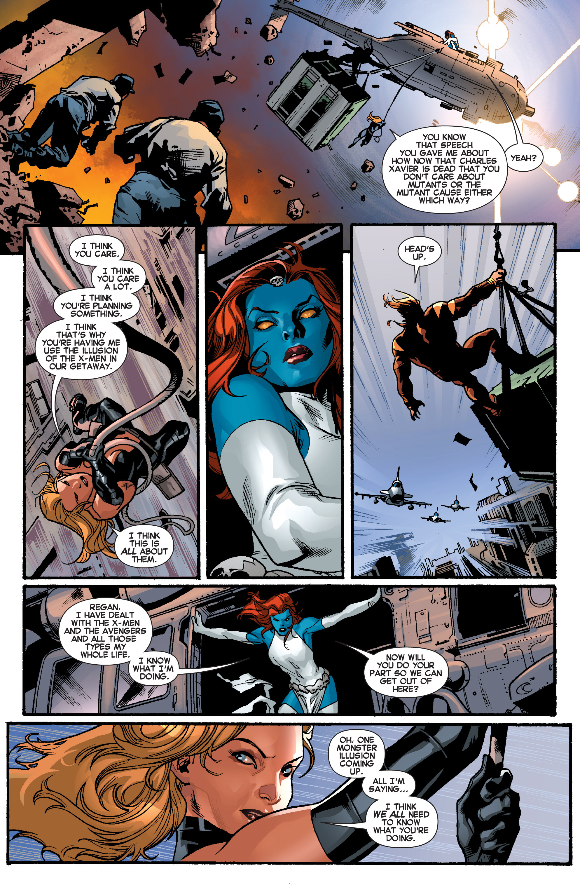 Read online All-New X-Men (2013) comic -  Issue # _Special - Out Of Their Depth - 38