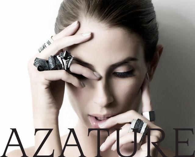 Azature Black Diamond nail polish