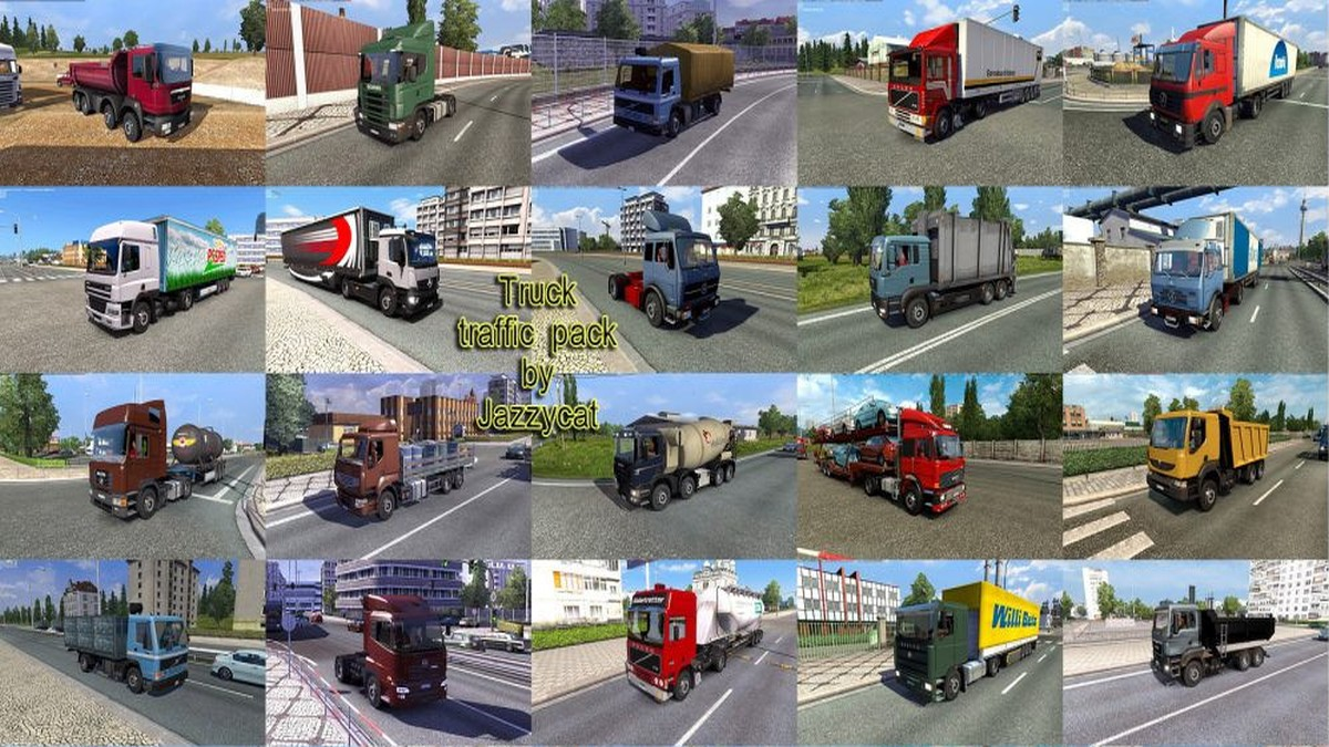 Jazzycat - Truck Traffic Pack v 2.9