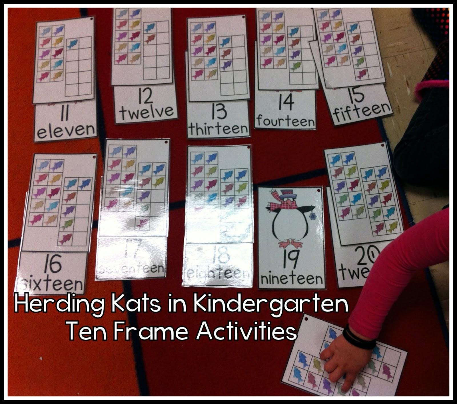 Herding Kats In Kindergarten Number Sense Amp Phonics Fun