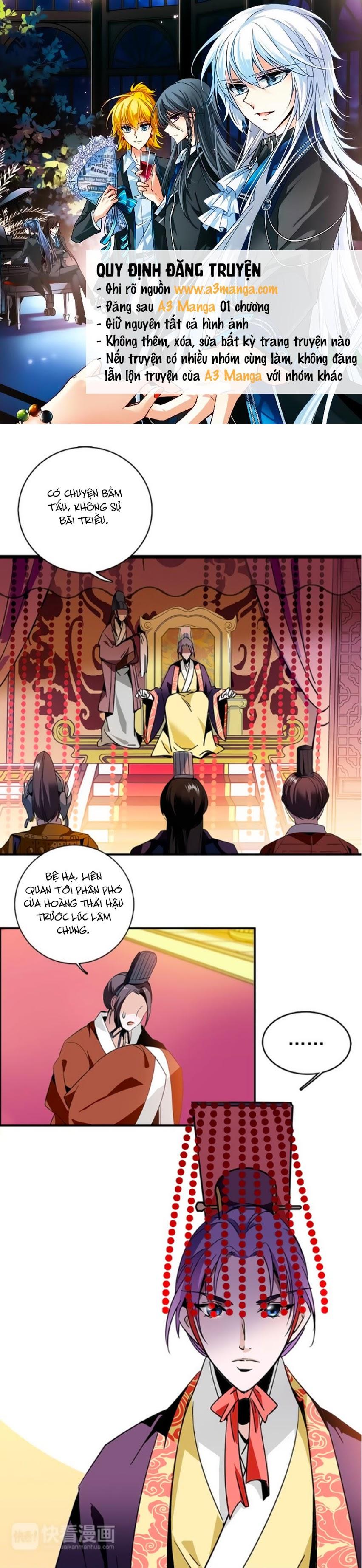 Hoàng Thượng! Hãy Sủng Ái Ta Đi! Chap 6