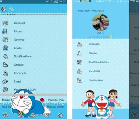 BBM Mod Doraemon