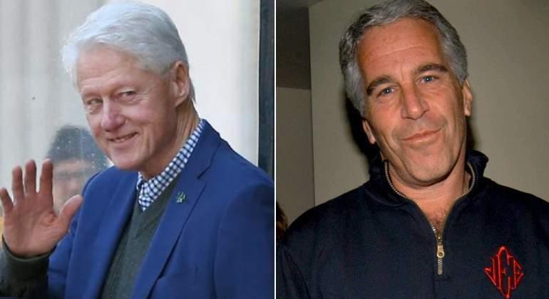 Imágenes de Bill Clinton siendo masajeado por una supuesta víctima sexual de Jeffrey Epstein