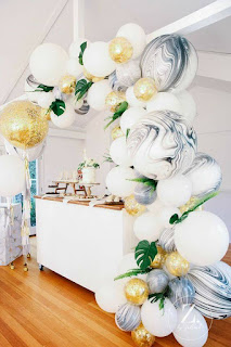 Organic Decor by Georgia Petrou of Boutique Balloons, Melbourne.