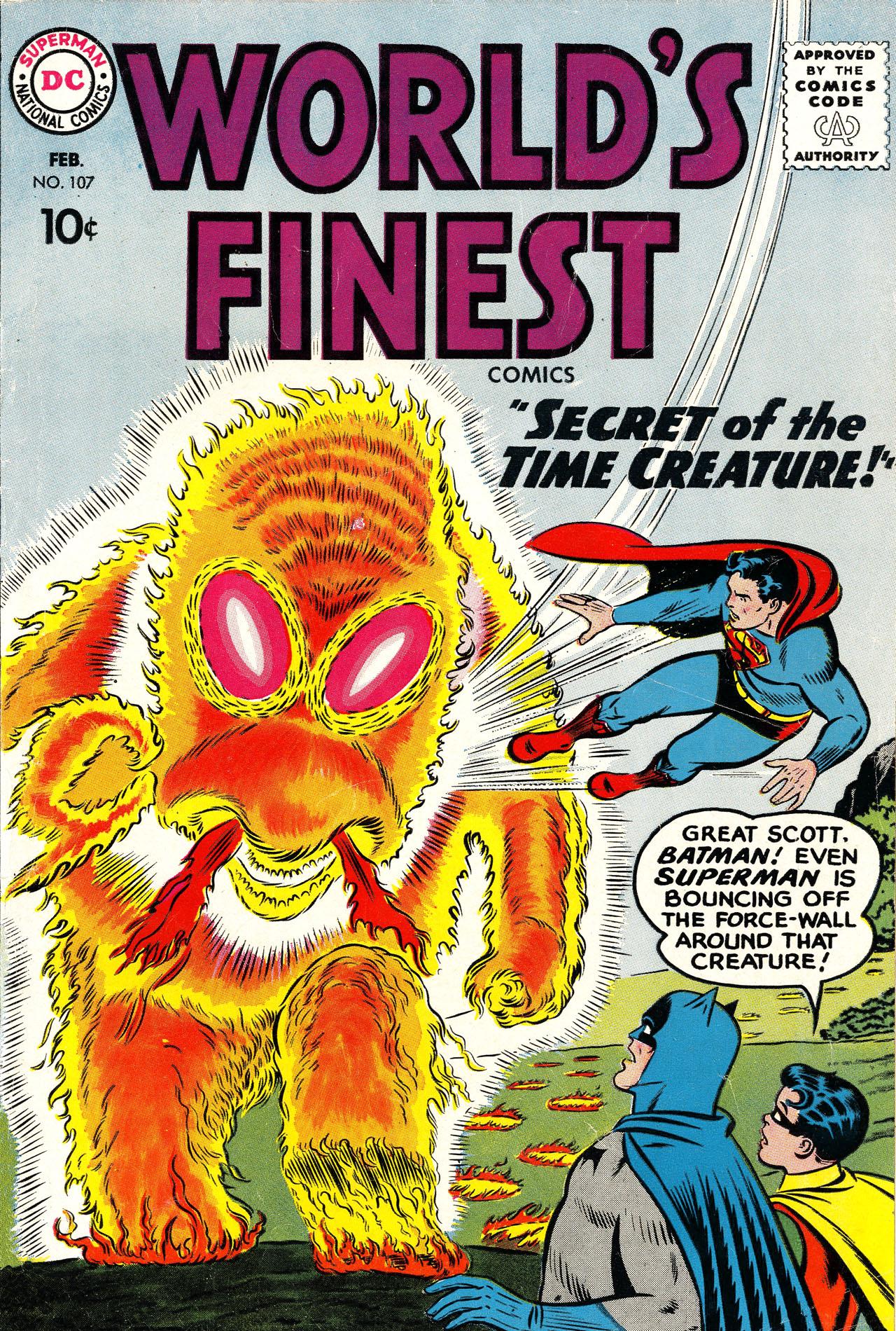 Read online World's Finest Comics comic -  Issue #107 - 1