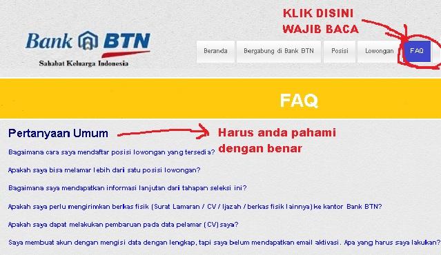 Baca Dulu Faq Bank BTN
