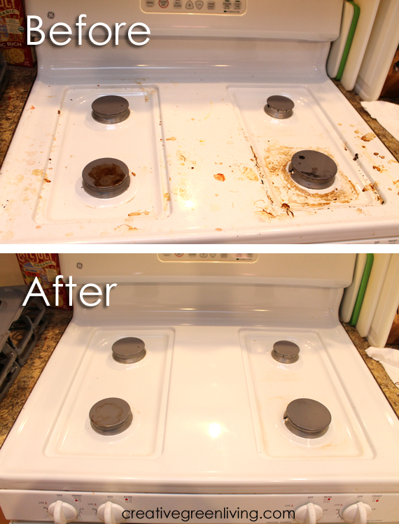 How To Deep Clean Your Oven Amp Stove Without Harsh
