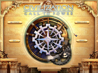 Civilization: Call to Power Main Screen