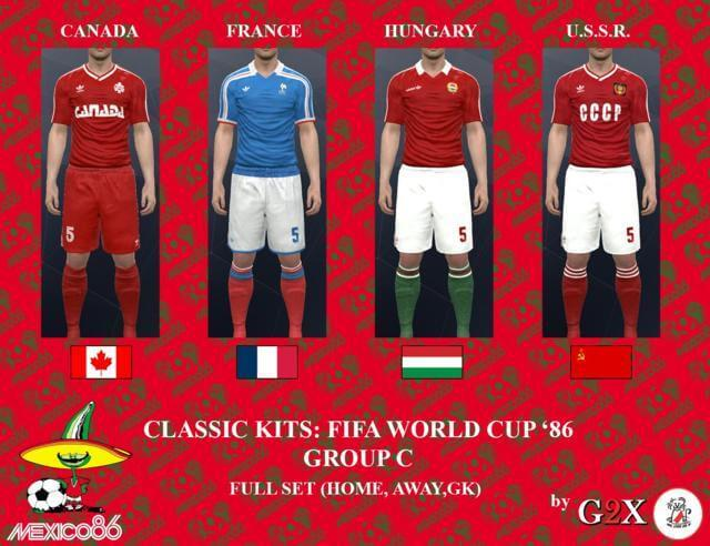 Classic Kit FIFA World Cup PES 2017