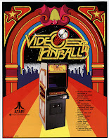 Flyer de Atari Video Pinball Arcade