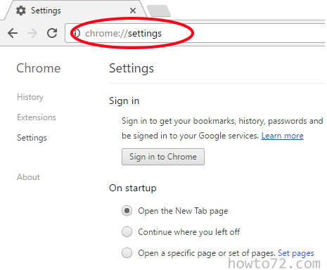 how to go to google settings on smart phone
