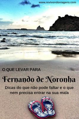 O que levar pra Fernando de Noronha