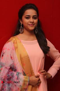 Sri Divya Stills in Salwar Kameez at Maaveeran Kittu Movie Audio Launch ~ Celebs Next