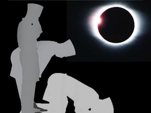 Bacaan Niat Tata Cara Shalat Gerhana  Bulan Dan Matahari Total Lengkap