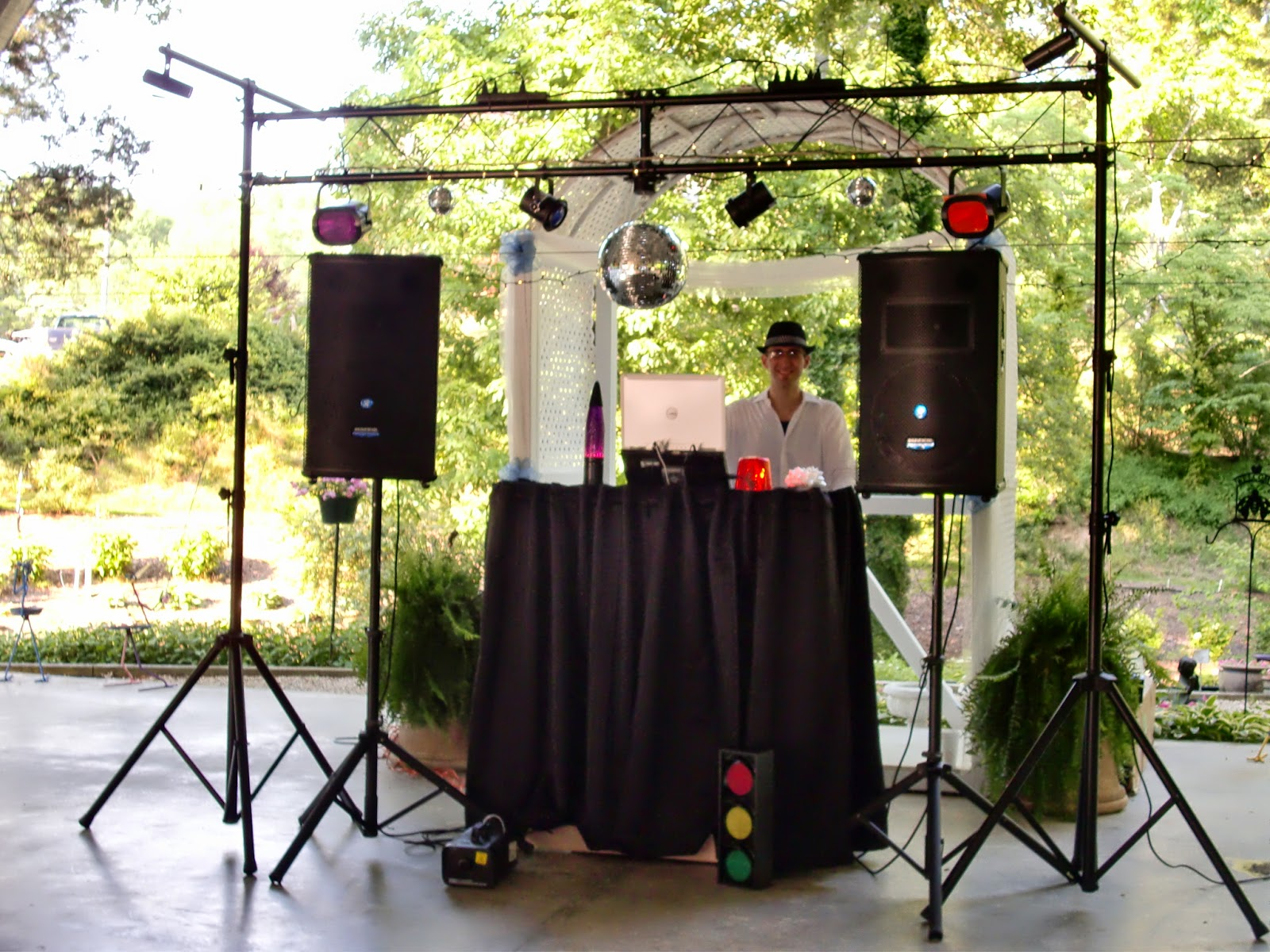 With Class LLC Wedding Coordination Party DJ - The Gardens of Sunshine Hollow - Athens, TN - DJ Mark