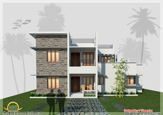2657 Sq. Ft. Contemporary Home Design - May 2012