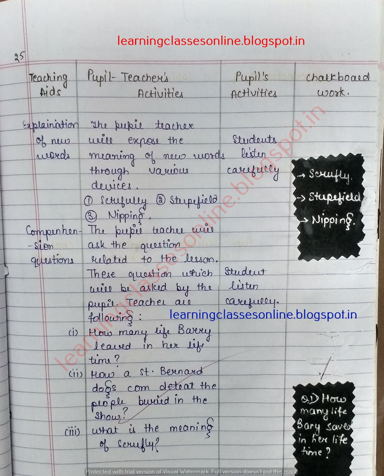 Microteaching Lesson Plan For English, Lesson Plan For Grade 1 English, Lesson Plan For Grade 3 English,