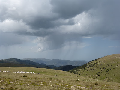 Pluie pyrénées catalanes