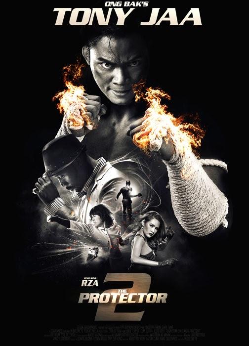 Poster Oficial The Protector 2 Cu Tony Jaa şi RZA