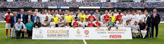 Corazon Classic Match Real Madrid Leyendas 2 Arsenal Legends 1: