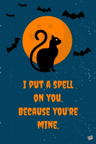 halloween greetings sayings
