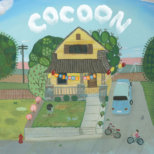 """""""Welcome Home"""" Cocoon Esther Pearl Watson."""
