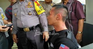 """Gara-gara Teriak """"Bebaskan Ahok"""" di Kerumunan Massa FPI, Satpam ini Diamankan Polisi"""