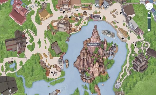 Frontierland en Disneyland Paris
