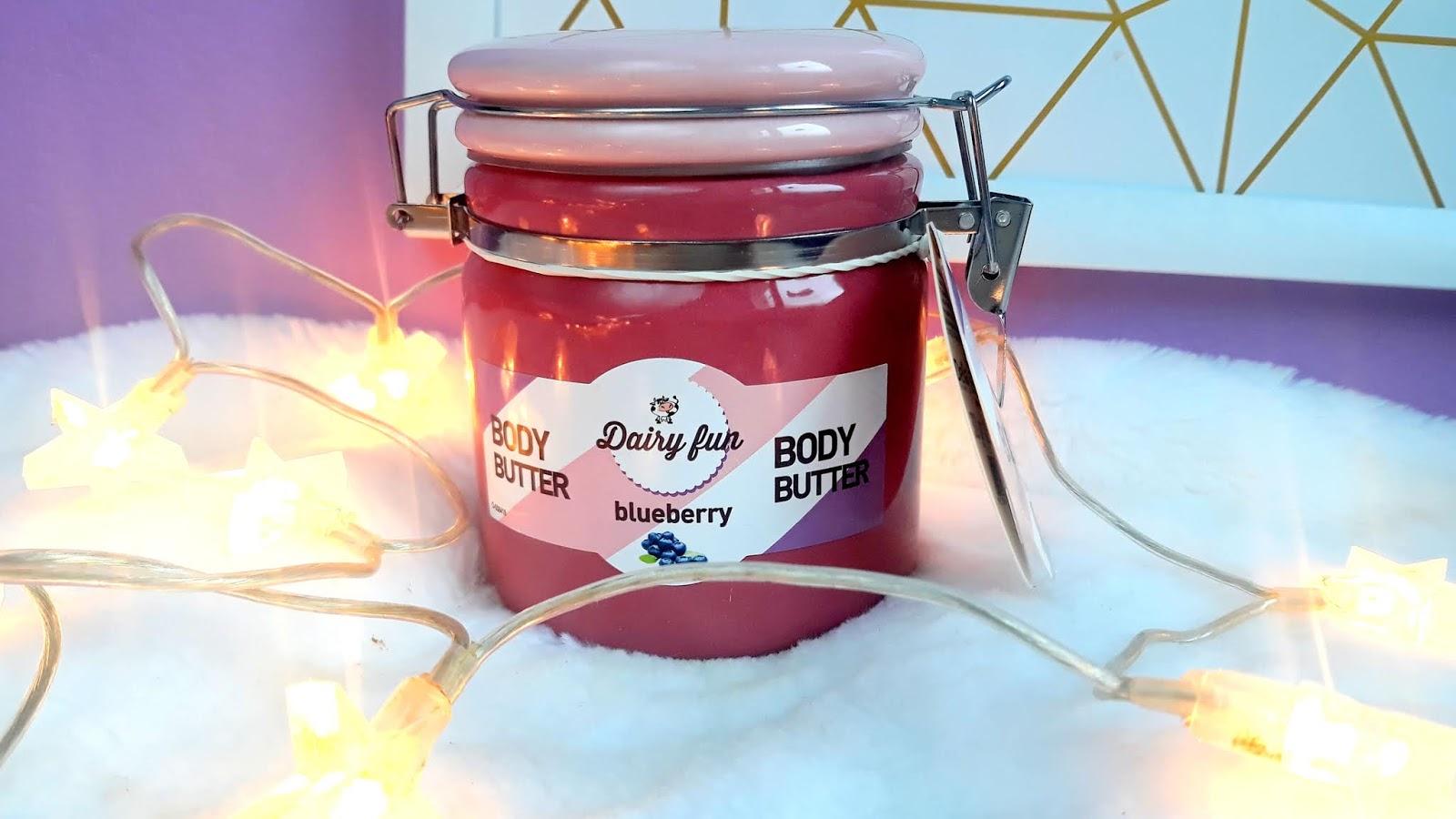 DAIRY FUN jagodowe masło do ciała