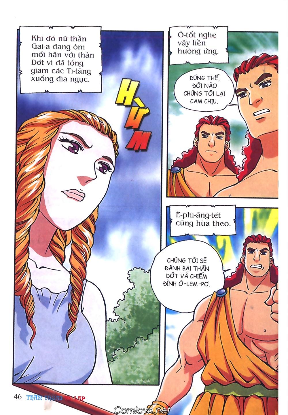 Thần Thoại Hy Lạp Màu - Chapter 57: Cuộc chiến định mệnh - Pic 43