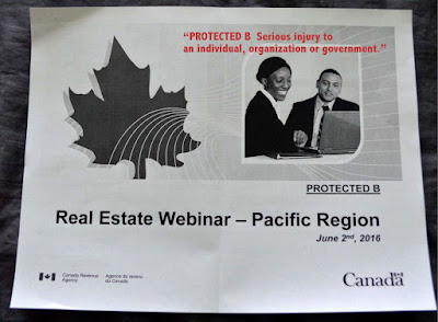 Real Estate Webinar - CRA Pacific Region, June 2, 2016