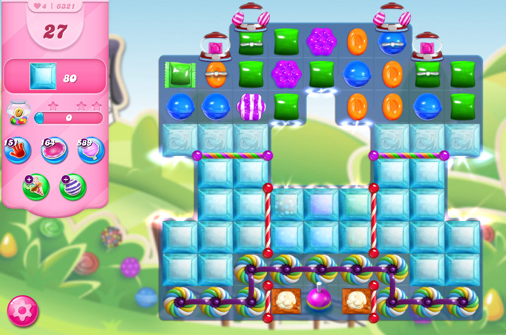 Candy Crush Saga level 6321