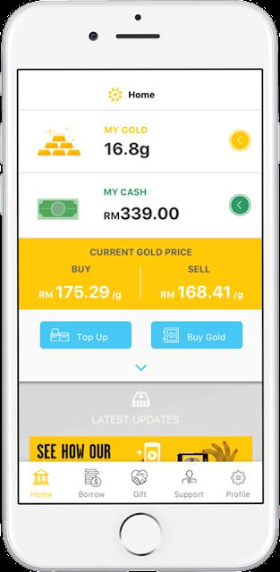 Cara Mulakan Pelaburan Emas Serendah RM5 Melalui Apps