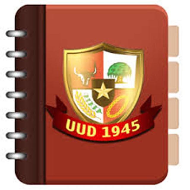 Sifat Undang Undang Dasar 1945