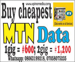 Cheapest Data, MTN data, Tech tips, Xpino Media Network,