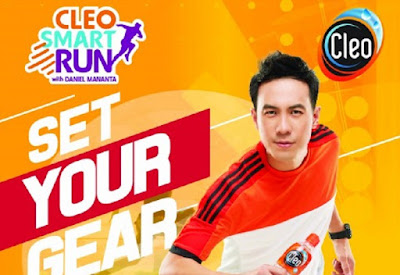 Cleo Smart Run 2016 Surabaya Graha Fireground cleopurewater Daniel Mananta