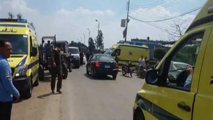 حادث كبير علي طريق المنيا والصحه تعلن عدد الاصابات حتي الان