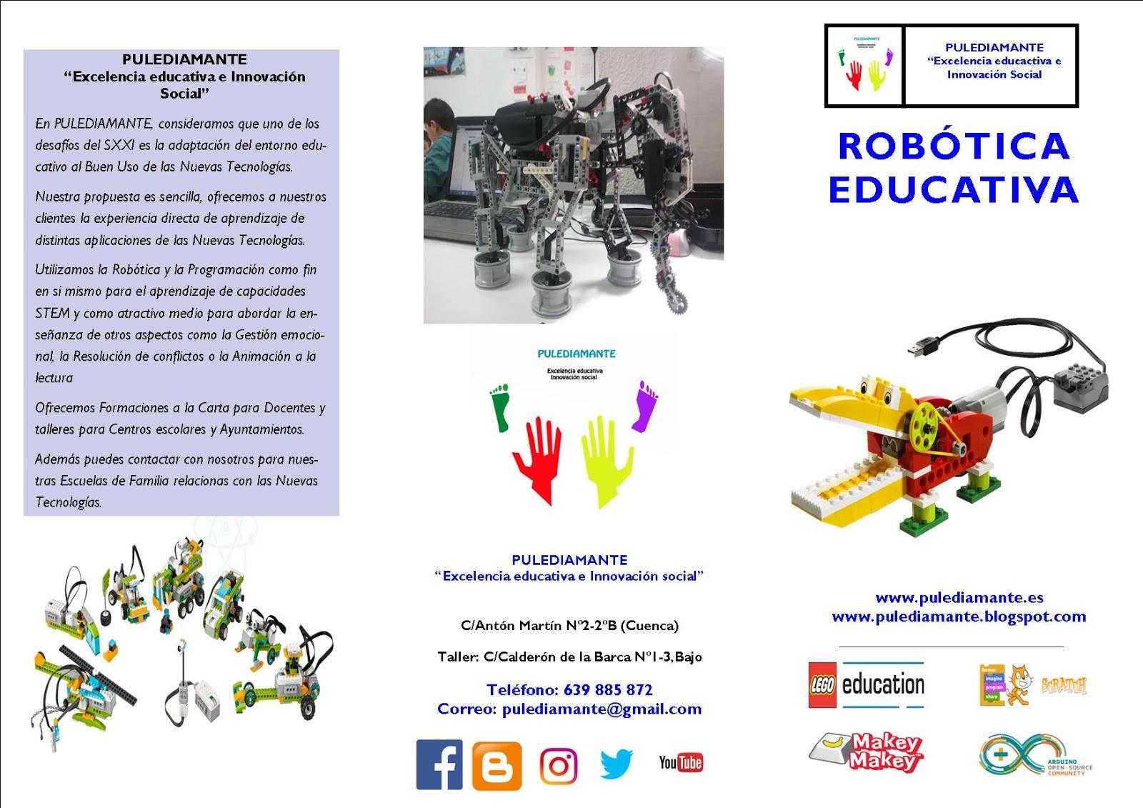 Pulediamante Formacion Para Profesores En Robotica